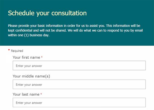Consultation Request